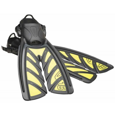 oceanic vortex v-16 v6 split fins fenor yellow gula