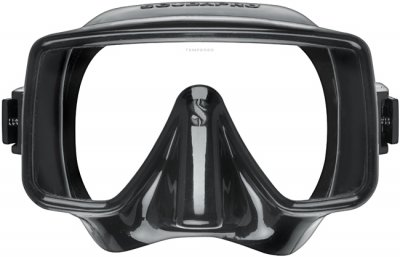 Scubapro frameless mask svart black